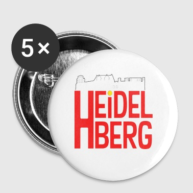 RED heidelberg - Small Buttons