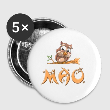 Mao Owl - Small Buttons