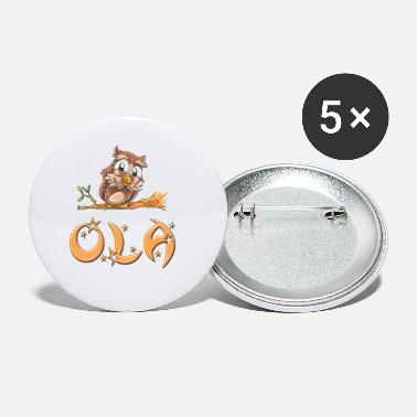 Ola Ola Owl - Small Buttons