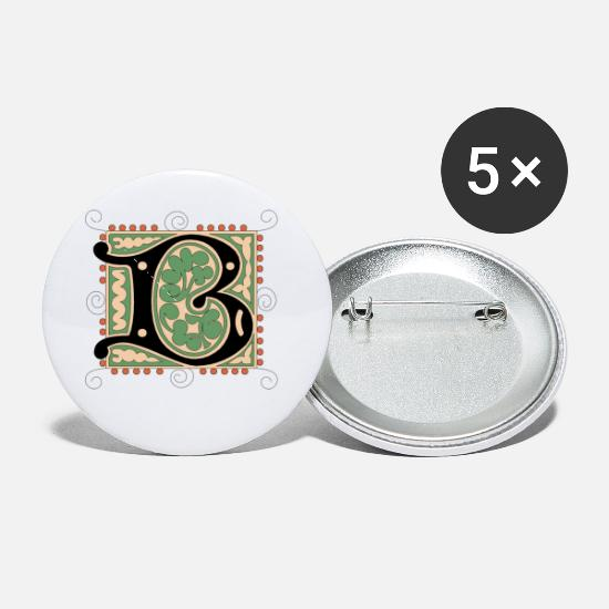 Vintage Buttons - b - Small Buttons white