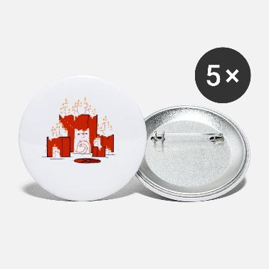 Cult cult cat - Small Buttons