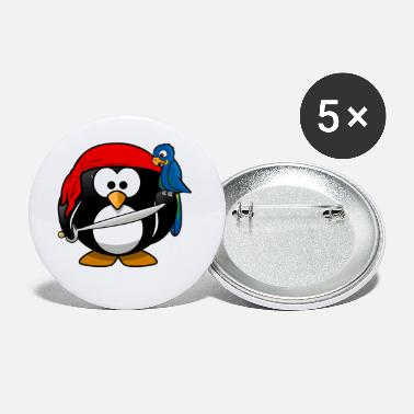 Penguin pirate - Small Buttons