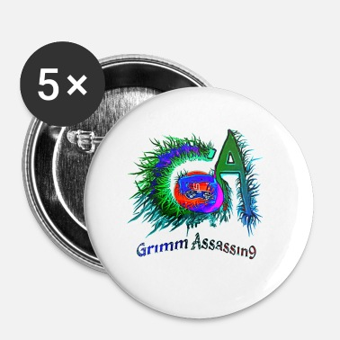 Grimm Grimm Assassin9 logo - Small Buttons