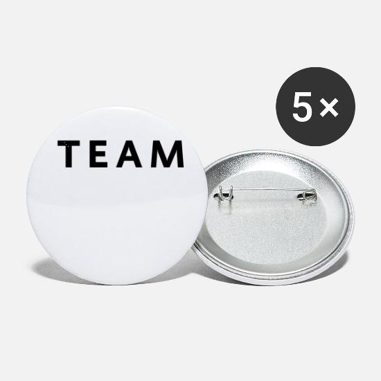 Scientology Buttons - équipe team - Small Buttons white