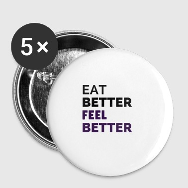 Nutrition is key - Small Buttons