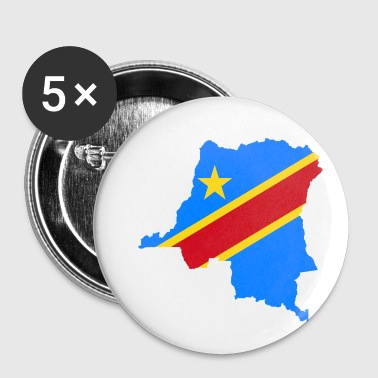 Democratic Party democratic republic of the congo - Small Buttons