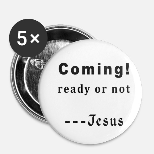 Cool Christian Quotes Inspirational Sayings Buttons Small 1 5 Pack White