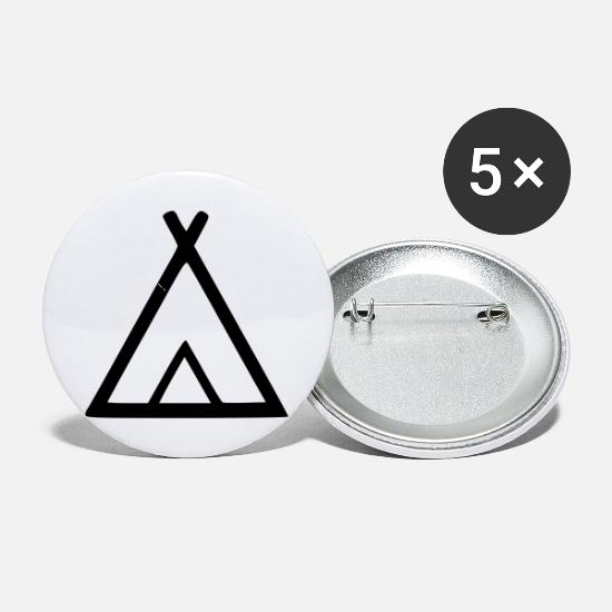 Tent Buttons - Tent - Small Buttons white