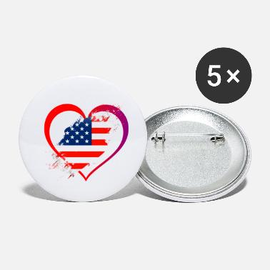 Smear Love USA - Small Buttons
