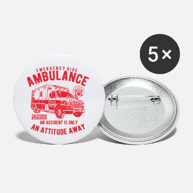 Ambulance Ambulance - Small Buttons