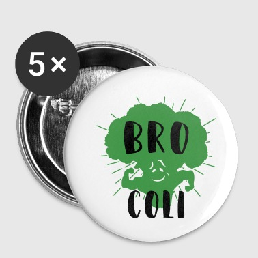 Bro-coli, the best Bro - Small Buttons