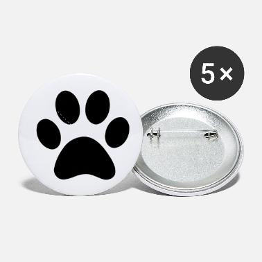 Print Paw Print - Small Buttons