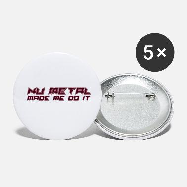 Heavy Metal Nu Metal - Small Buttons