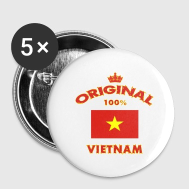 Vietnam 100% Original - Small Buttons