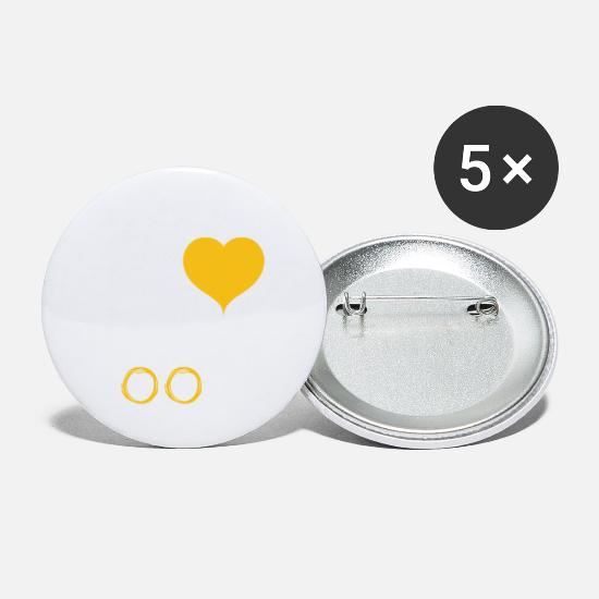 Love Buttons - Noodles - Small Buttons white