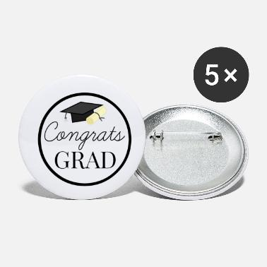 Congratulations Congrats Grad - congratulations for Graduation - Small Buttons