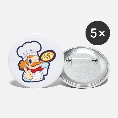 Pizza Chef Pizza - Small Buttons