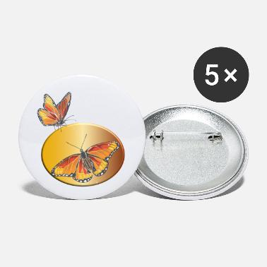 Monarch Butterfly Monarch - Small Buttons