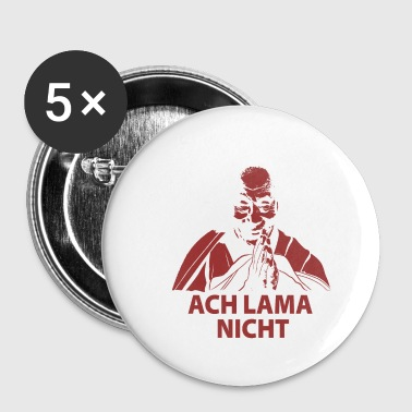 Ach lama nicht - do not tell nonsense - Small Buttons