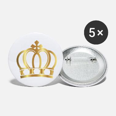 Crown Golden Crown Gold Crowns Lifestyle King Queen Gift - Small Buttons