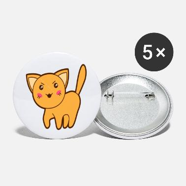 Bad Look Cute Bad Looking Cat - Small Buttons