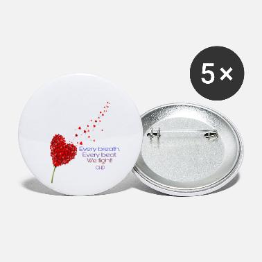Heart CHD - Small Buttons