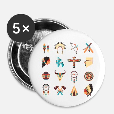 Indigenous Native Americans' Day - Indigenous People's Day - Small Buttons