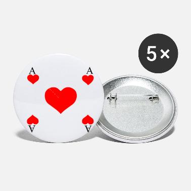 Ace Of Heart ACE OF HEARTS - Small Buttons