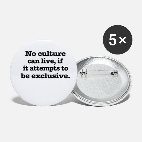 Motivational Buttons - No culture - Small Buttons white