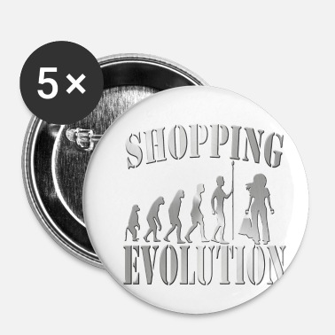 Shops Shopping - Small Buttons