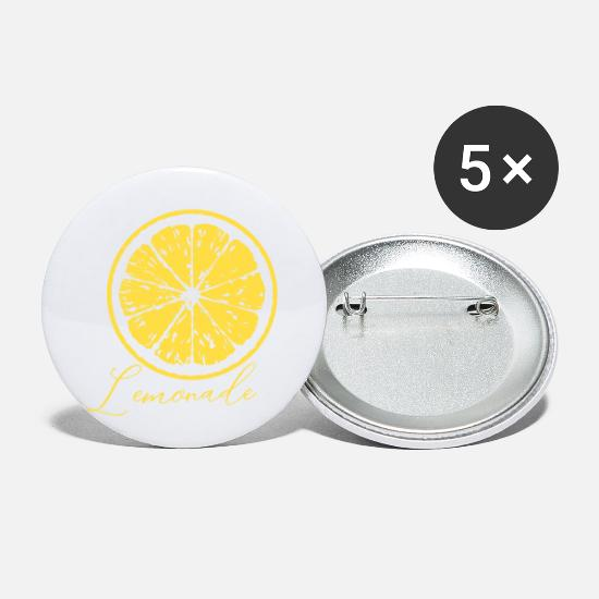 White Wine Buttons - lemonade - Small Buttons white