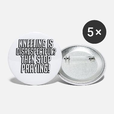 Kneeling Kaepernick I'M WITH COLIN - Small Buttons