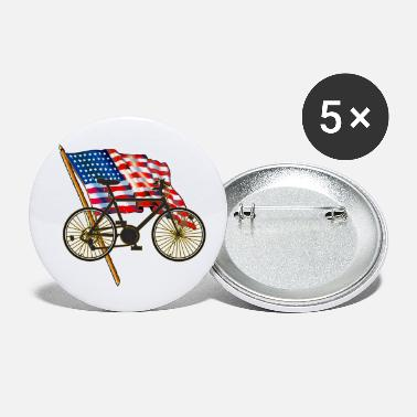 Bicyclette Biking Cycling - Small Buttons