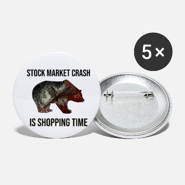 Shopping STOCK MARKET CRASH IS SHOPPING TIME - Small Buttons