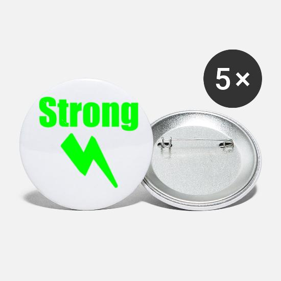 Blitz Buttons - Strong - Small Buttons white