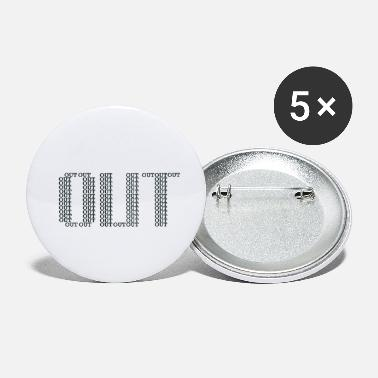 Out OUT - Small Buttons