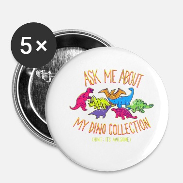 Collections Dino Collection - Buttons small 1'' (5-pack)