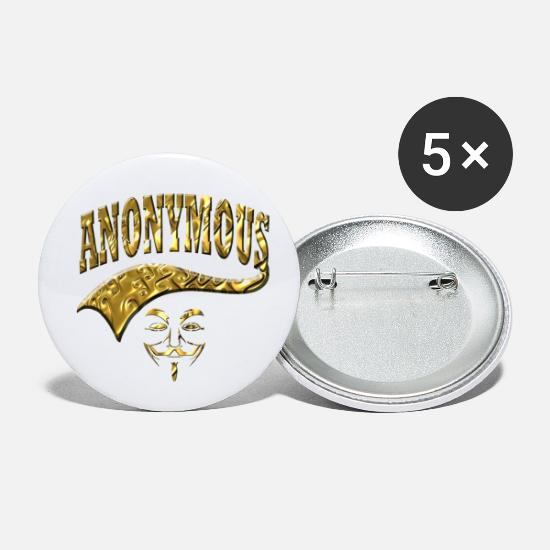 Virtual Buttons - Anonymous - Small Buttons white