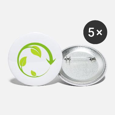 Reduced Reduce Reuse Recycle - Small Buttons