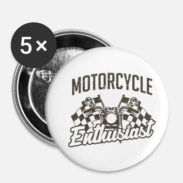 Shops Motorcycle enthusiast. - Small Buttons