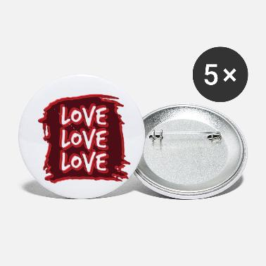 Lovely Love love love - Small Buttons