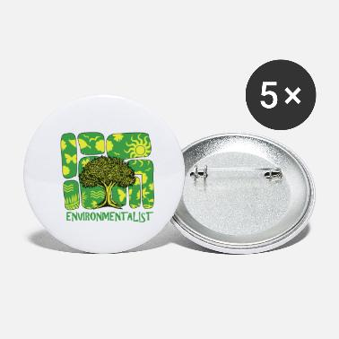 Protection Of The Environment Environmentalist Environment Protection - Small Buttons