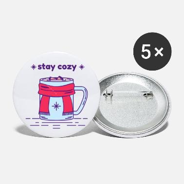 Cozy Stay Cozy - Small Buttons