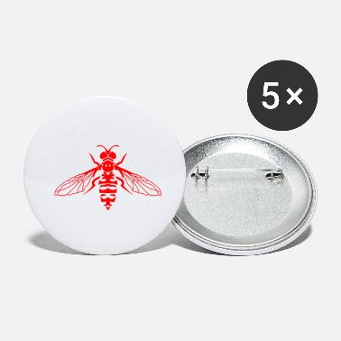Fly Fly Insects - Small Buttons