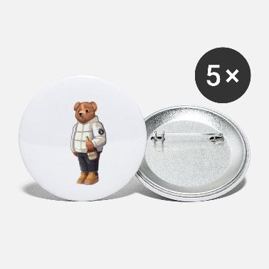 Solehouette Henny Bear Wht - Small Buttons