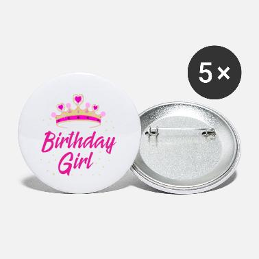 Birthday Birthday Girl Gift Idea Birthday Party - Small Buttons
