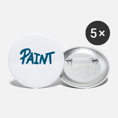 Painting Paint - Small Buttons