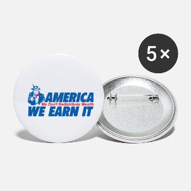 Wealth WEALTH EARN IT - Small Buttons