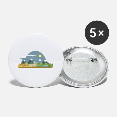 Company Natural mountain - Small Buttons