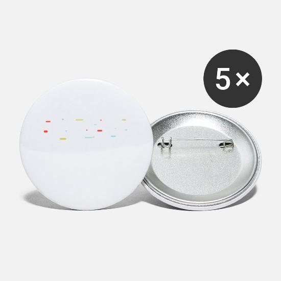 Movers Buttons - Move Me - Small Buttons white